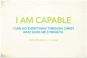 i am capable