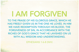 i am forgiven